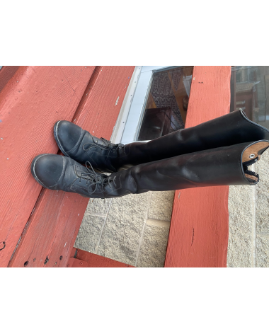 7.5 Ariat Slim leather tall boot