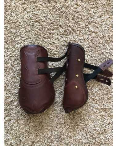 Dover Saddlery Premier Leather Open Fronts