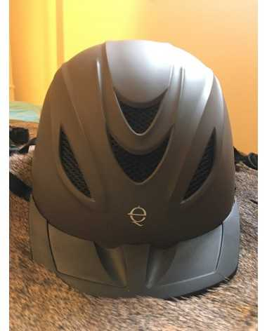 Troxel Intrepid Flipfold Helmet in Matte Grey/Brown-ish