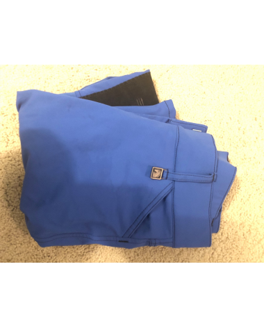 Romfh knee patch breeches blue size 22