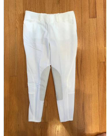 NEW Ariat ProSeries side zip white show breeches. Perfect for grandprix or derby