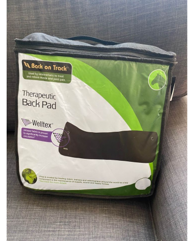 Back on Track Therapeutic Back pad 4'x3' Like new in package