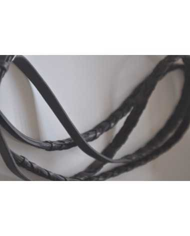 hunter style laced reins