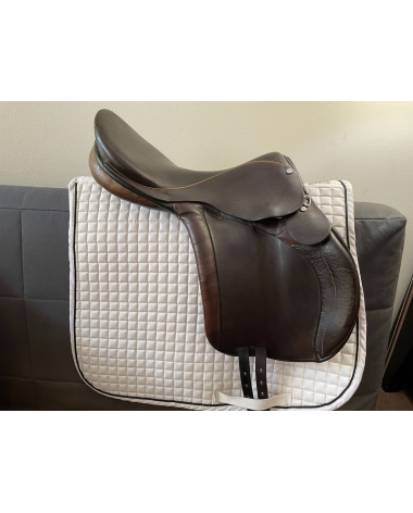 Berney Olympic Saddle 18 In Cross Country Saddle