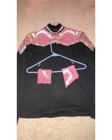 Pink & Black All Day Western Show Outfit