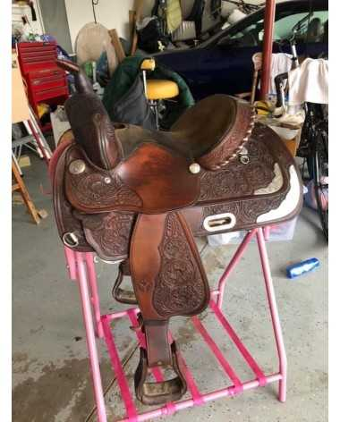 "13""!Circle Y Western Pleasure Saddle"