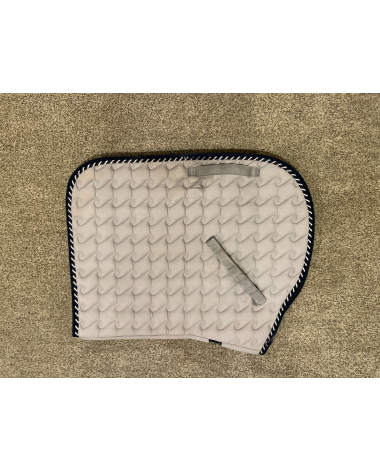 TOKLAT pad , grey with navy and white piping