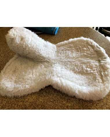 Shires white half pad