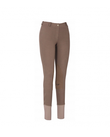 Low-Rise Tuff Rider ribbed pull-on breeches