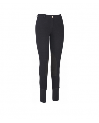 Low-Rise Tuffrider ribbed pull-on breeches
