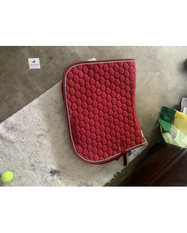 Red A/P saddle pad