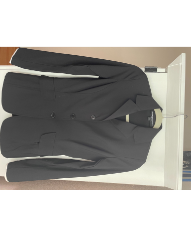 Perfect condition CHARLES ANCONA coat in black