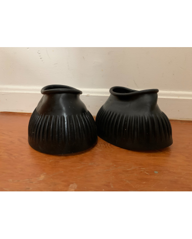 Dover Saddlery Rubber Pull On Bell Boots