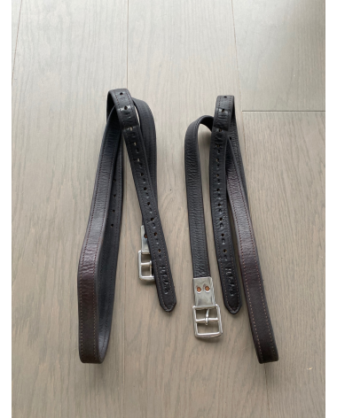 """54"""" m Toulouse stirrup leathers"""