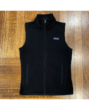 Patagonia Better Sweater Vest – Black, XX-Small