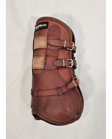 CWD/EquiFit T-Luxe Open Front Boots - M/L