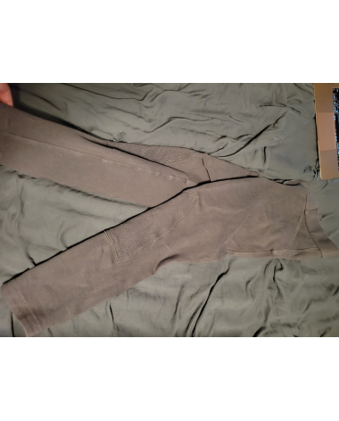 Grey Knee Patch Riding Sport Breeches