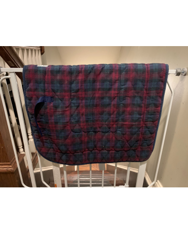 Plaid Wilker's Quilted Saddle Pad