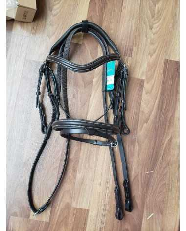 DARK BROWN Pessoa Flash Bridle