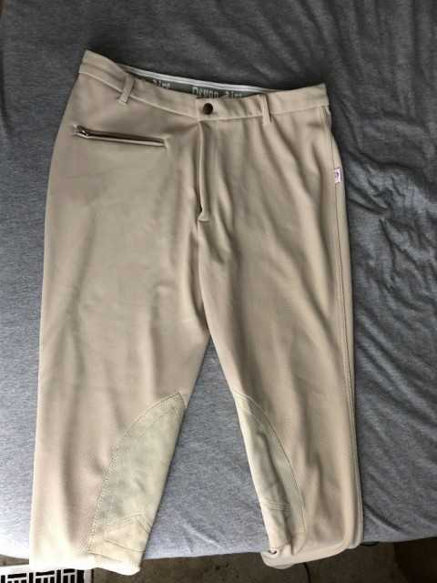 Devin Aire Knee Patch Breeches