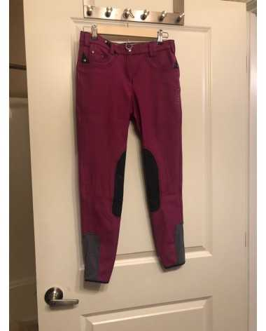 Pink pikeur breeches size 26