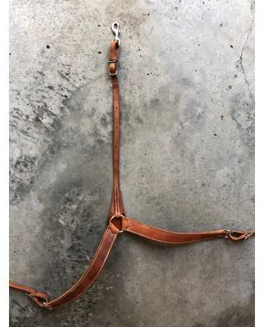 Light Brown Leather Breast plate & Headstall