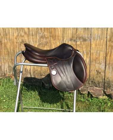 "17.5"" Meyer 2016 Calf Leather Saddle for sale"