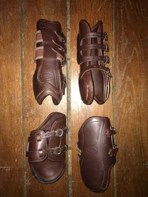 Prestige Open Fronted Leather Jumping Boots