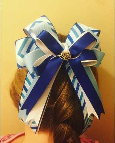One of a kind handmade bows