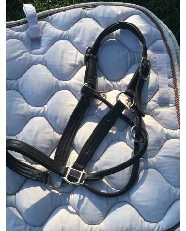 ADT leather halter
