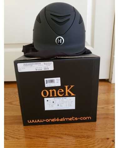 One K Black Matte Defender Small Helmet