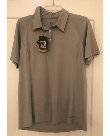Noble Outfitters Women's Grey Polo XL