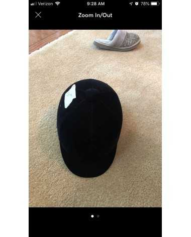 Used riding helmet