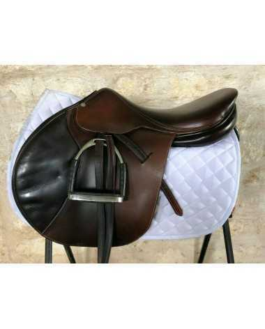 "Butet Half Deep 18"" Cachou Saddle"