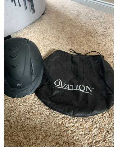 Black medium large ovation deluxe schooler helmet
