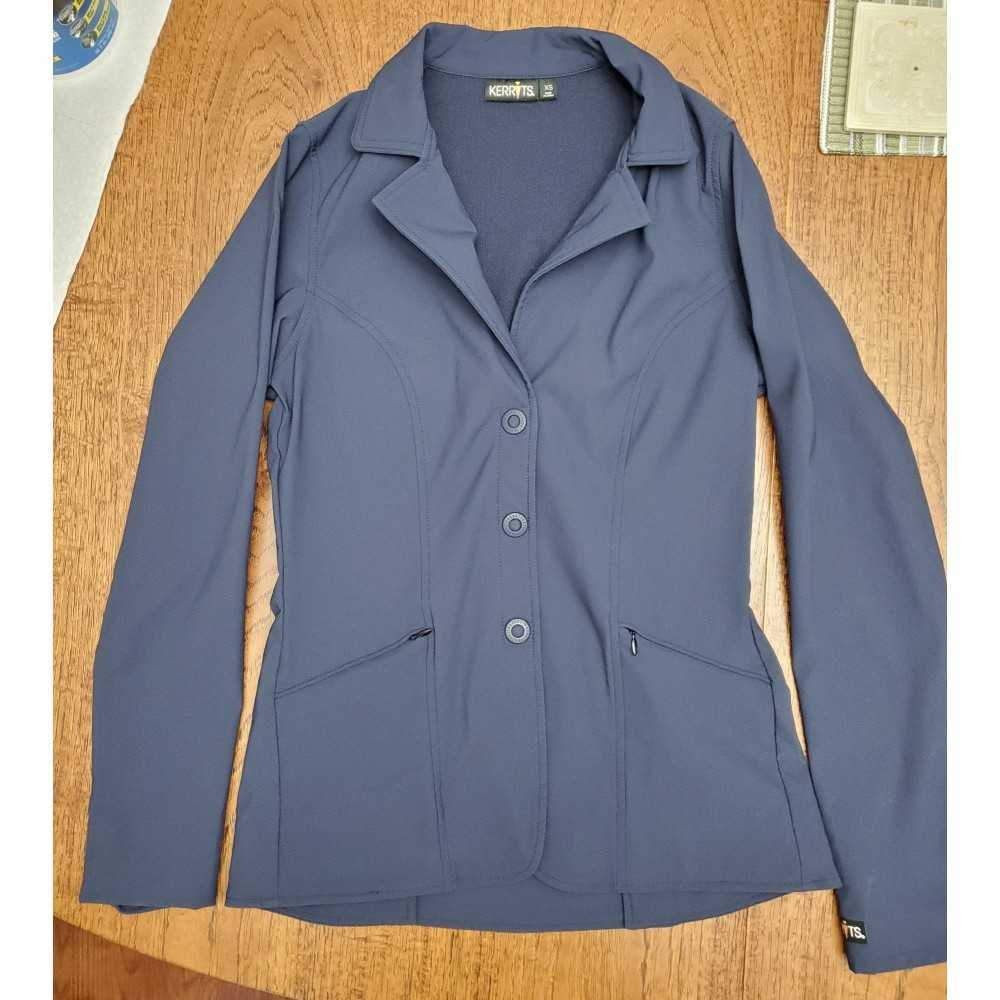 Kerrits Navy Stretch Competitor coat XS