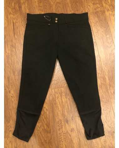 Black Ovation Full Seat Breeches - New Without Tags - 36 Regular