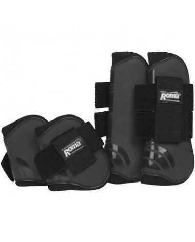 Roma Competitor Open FrontFetlock Boot Set