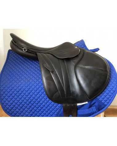 "17"" Butet monoflap premium saddle - 2004 - 3C - 3.75"" dot to dot"