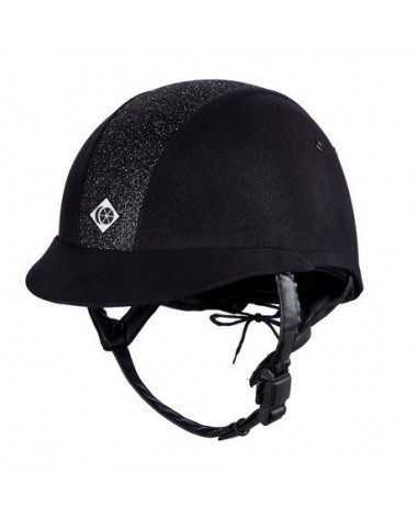 Charles Owen Elumn8 Helmet - Black/Sparkle - 59 (7 1/4) - New!