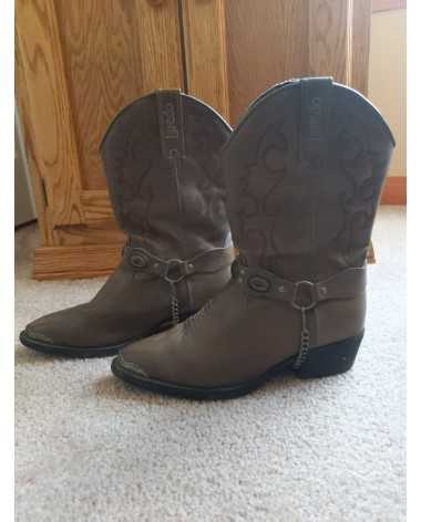 Youth Size 4D Laredo Brown Western Boots