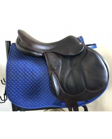 "17.5"" Devoucoux Chiberta saddle - 2010 - 2A - 4.5"" dot to dot"