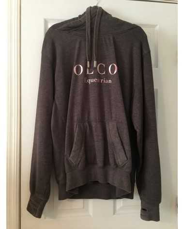 OLCO GRAY/ROSE GOLD HOODIE *EXCELLENT CONDITION*