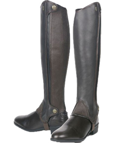 Tredstep Deluxe Half Chaps in Brown