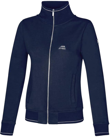 Equiline Keila Sweatshrit in Navy