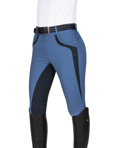 Equiline Patricia Full Seat Breeches in Blue