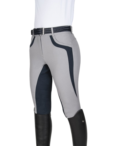Equiline Patricia Full Seat Breeches in Grey