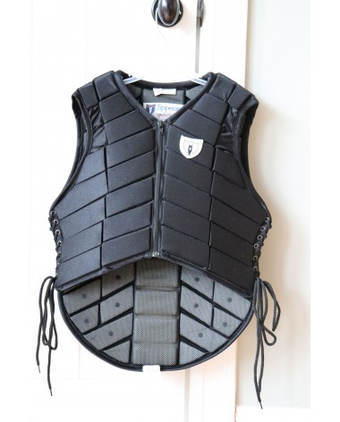Tipperary Black Eventer Vest Youth XL