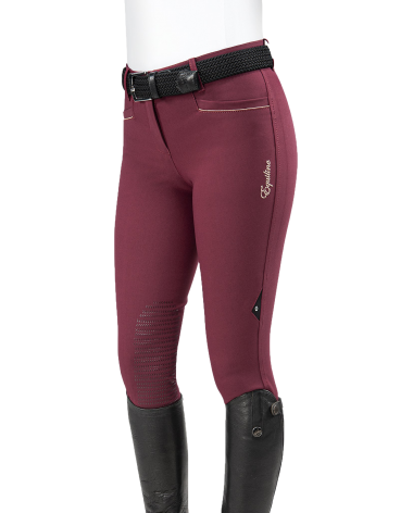 Equiline Ashlyn Breeches in Bordeaux