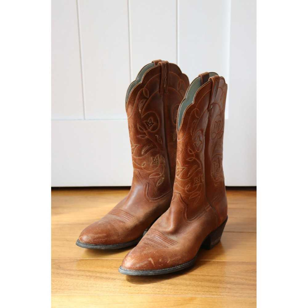 Ariat Heritage R Toe Western Boots Women's 8 1/2